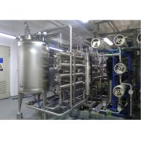 Wholesale URS Reverse omosis EDI Water Treatment with distribution loop Pasteurized disinfects 15m3/h from china suppliers