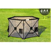 Wholesale Extra Large Security Portable Play Yard Thick Steel Frame , Outdoor Use from china suppliers