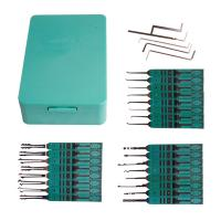 Wholesale Hooked Auto Locksmith Tools KLOM South Korea 32 Lily Set Soft-plastic Handle from china suppliers