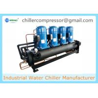 Wholesale 210kw 60Tons Scroll Water Cooled Chiller with Danfoss Compressor from china suppliers
