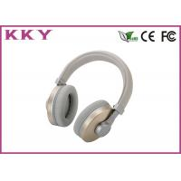 Quality OEM / ODM Accept Over Ear Bluetooth Earphones With Stainless Steel Shell for sale