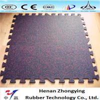 Buy cheap Gym Interlocking rubber tiles/gym rubber floor rolls/sports rubber mat from wholesalers