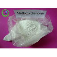 Wholesale White Raw Hormone Powders , Anti Estrogen Steroids Methoxydienone for Strongest Bodybuilding from china suppliers