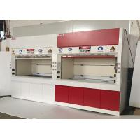 Buy cheap 1500 mm  Anti Strongest Acid / Alakli White / Blue All Steel Fume Hood For Chemical Factory  / School  /  Hospital from wholesalers