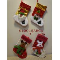 Wholesale Christmas sock product (ZY13L364-1-2 25CM) stocking item christmas decorating set from china suppliers