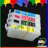 Wholesale refillable ink cartridge with chip for Epson WF-2530WF 4 color printer from china suppliers