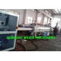 Wholesale 75 - 200mm HDPE Pipe Making Machine Single Screw Extruder from china suppliers