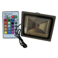 Wholesale Environmental IP65 Waterproof Outdoor RGB Led Flood Lights 30W, AC100 - 240V, 50 / 60 HZ from china suppliers