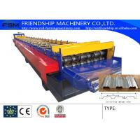 Wholesale 3 Phase Metal Deck Roll Forming Machine Galvanized Steel 11KW 380v 50Hz from china suppliers