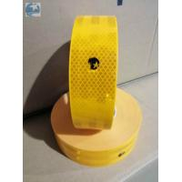 Conspicuity ECE 104 Reflective Tape , Gold Yellow Reflective Tape With Edge Class C