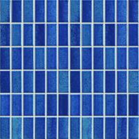 Quality Knives Glass Mirror Ceramic Mosaic Tiles , Interior Wall 23x48mm Mosaic Tiles for sale