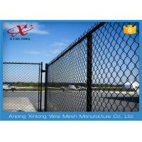Wholesale Multi Function Diamond Wire Netting , Chain Link Mesh Fence Twist / Knuckle from china suppliers