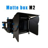Wholesale High quality Camcorder Tripod Stabilizers Heavy pad video camera 2-Stage Matte Box from china suppliers