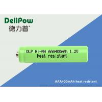 Wholesale Environmentally Friendly AAA NIMH Rechargeable Battery 400mAh from china suppliers