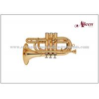 Quality Lacquered Brass Spainish style China Brass Cornet ( CN8713G) Brass Music Instruments for sale