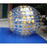 Colorful 0.8 / 1.0MM PVC / TPU Land / Grass Inflatable Zorb Ball for Kids and Adults