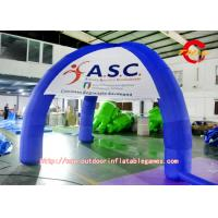 Wholesale Outdoor Exhibition Products Four Oxford Blue Cloth / PVC Inflatable Tent from china suppliers