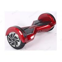 Wholesale 8 Inch BT LED Self Balancing Vehicle , Red Adult Electric Scooter from china suppliers