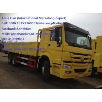 Wholesale 40 Ton Euro II ZF8098 Steering Heavy Cargo Trucks SINOTRUK HOWO 6X4 290HP from china suppliers
