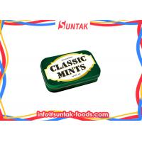 Wholesale Color Crystal Compressed Dextrose Sugar Free Chewy Candy , Round Sugar Free Breath Mints from china suppliers
