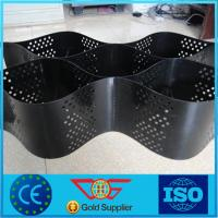 Wholesale Grey Color Plastic GEOCELL Honeycomb Gravel Retainer with CE Certificate from china suppliers