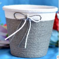 Quality 2016 Hot sale Europe Style Paper cloth Basket, storage basket, gift packing, cosmetic packing, household items for sale