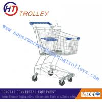 Wholesale Asia Style Plating Zinc Steel Basket Shopping Carts For Grocery Store 60L from china suppliers
