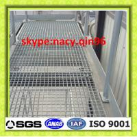 Wholesale platform floor galvanized steel grating manufacturer from china suppliers