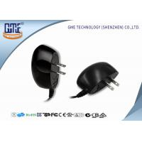 Wholesale Black 100-240v Ul Plug Wall Mount Power Adapter Ac Dc 3v 1a 4v 1.2a 5v 1a from china suppliers