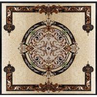 Quality Parquet, natural stone parquet, engineered stone water jet medallion for sale
