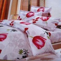 Wholesale Four-piece Microfiber Bedding Set, Made of 100% Polyester, Available in Various Sizes and Designs from china suppliers