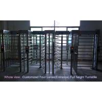 Quality Philippines Stadium Full Height Turnstile /  biometric access control barrier gate in outdoor for sale
