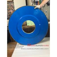 Wholesale D915mm Resin Diamond HVOF Grinding Wheel For Thermal Spraying Alloy Materials -julia@moresuperhard.com from china suppliers