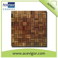 Wholesale Solid wood mosaic tiles for wall decoration from china suppliers