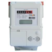 Wholesale Compliant Contactless IC Card Prepaid Gas Meter With Lcd Display , Lightweight from china suppliers
