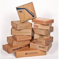 Wholesale Double Wall Cardboard Boxes , Custom Sized Cardboard Mailing Boxes from china suppliers