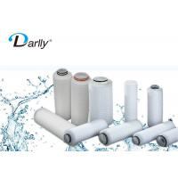Wholesale 4μm PP Pleated Filter Cartridge Micro Filtration Water Filter High Performance from china suppliers