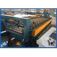 Quality Durable Roofing Corrugated Sheet Roll Forming Machine High Speed For Roof Panel for sale