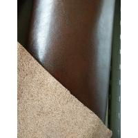 Wholesale Anti - Mildew  Full Grain Cowhide Leather , Genuine Bonded Leather from china suppliers
