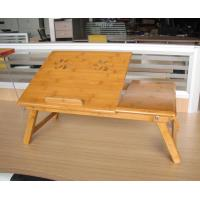 Buy cheap bedroom bamboo computer desk laptop desk from wholesalers