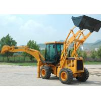 Wholesale 360° Rotating Damping Seat Tractor Backhoe Loader for Municipal Projects / Raod Maintenance from china suppliers
