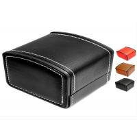 Wholesale MDF Core Watch Packing Box Black And White Pu Leather Custom Logo TW-036 from china suppliers