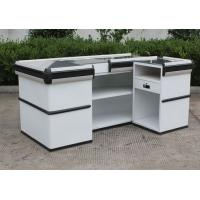 Wholesale Convenience Store / Supermarket Checkout Counter , Stainless Steel Retail Cash Wrap Counter from china suppliers