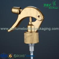 Wholesale Golden Hand Plastic Trigger Sprayer , 28 / 410 Japanese Mist Trigger Sprayer from china suppliers