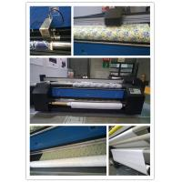 Wholesale Auto Feed And Roll Up Directly Polyester Fabric Plotter Fabric Printing Machine from china suppliers