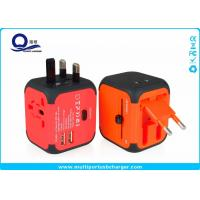 Wholesale Rubber Oil Surface Iphone USB Socket Charger With Dual 5V 2.4A Output USB Port from china suppliers