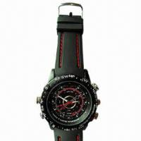 Wholesale Waterproof Cheap Camera Watch with 4GB Internal Memory from china suppliers