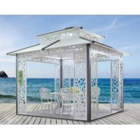 Wholesale China Cast aluminum outdoor sunshine pavilion metal pavilion garden Pavilion 1118 from china suppliers