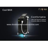 Wholesale Medical Diode Laser Hair Removal Machine 1 - 10 Hz Frequency For All Color Skin from china suppliers