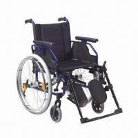 Wholesale Wheelchair with Aluminum Chair Frame, OEM Orders are Welcome from china suppliers